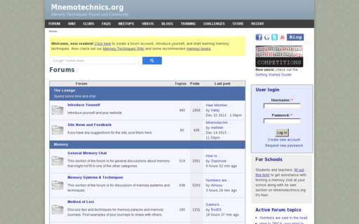 Access mnemotechnics.org using Hola Unblocker web proxy