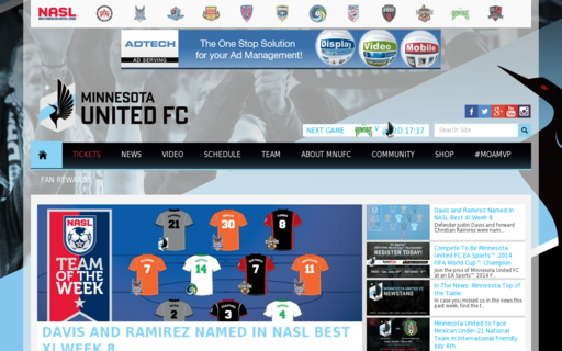 Access mnunitedfc.com using Hola Unblocker web proxy
