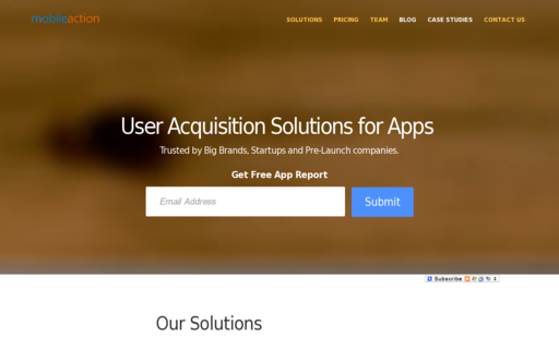 Access mobileaction.co using Hola Unblocker web proxy