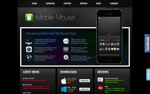 Access mobilemouse.com using Hola Unblocker web proxy