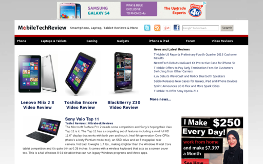 Access mobiletechreview.com using Hola Unblocker web proxy