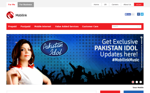 Access mobilinkgsm.com using Hola Unblocker web proxy