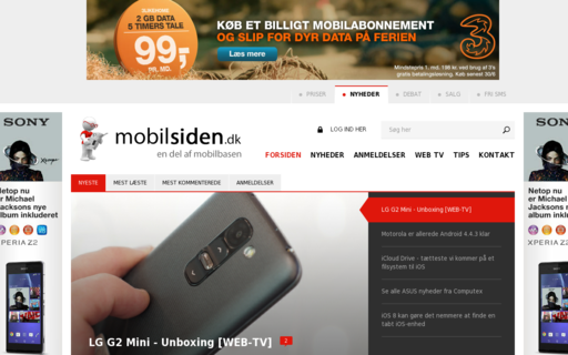 Access mobilsiden.dk using Hola Unblocker web proxy