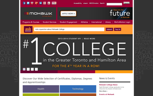 Access mohawkcollege.ca using Hola Unblocker web proxy