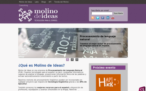 Access molinodeideas.com using Hola Unblocker web proxy