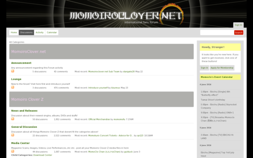 Access momoiroclover.net using Hola Unblocker web proxy