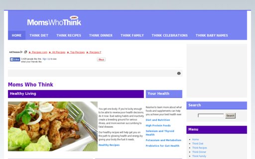 Access momswhothink.com using Hola Unblocker web proxy