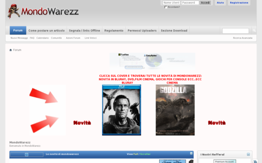 Access mondowarezz.com using Hola Unblocker web proxy