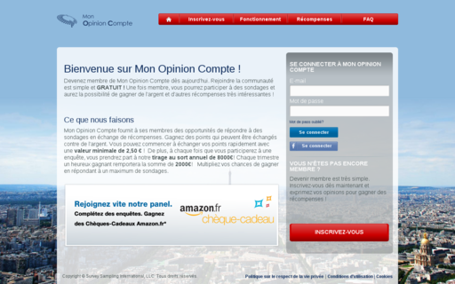 Access monopinioncompte.fr using Hola Unblocker web proxy