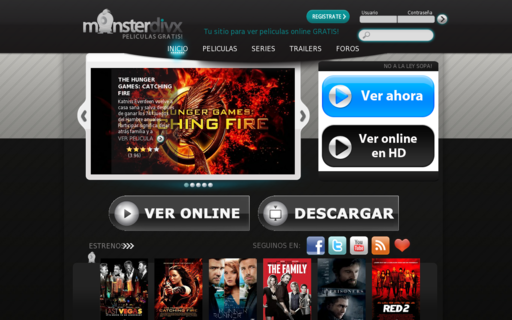 Access monsterdivx.com using Hola Unblocker web proxy