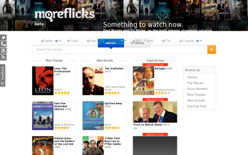 Access moreflicks.com using Hola Unblocker web proxy