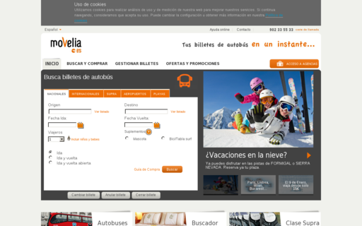 Access movelia.es using Hola Unblocker web proxy