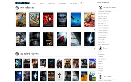 Access movie-hater.com using Hola Unblocker web proxy