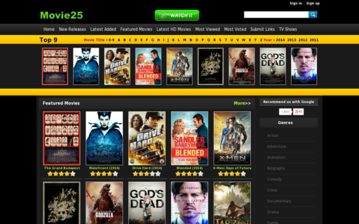 Access movie25.so using Hola Unblocker web proxy