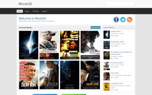 Access movie2k.pw using Hola Unblocker web proxy