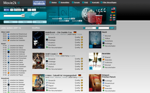 Access movie2k.tl using Hola Unblocker web proxy