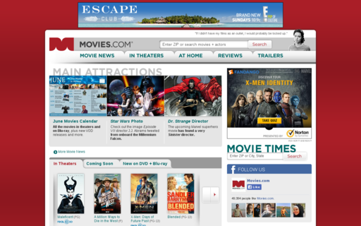 Access movies.com using Hola Unblocker web proxy