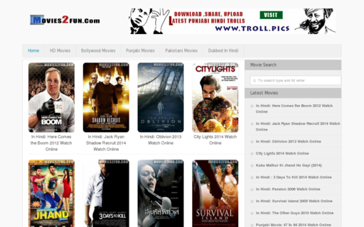 Access movies2fun.com using Hola Unblocker web proxy