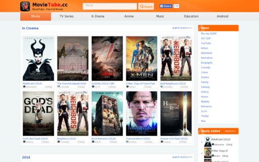Access movietube.co using Hola Unblocker web proxy