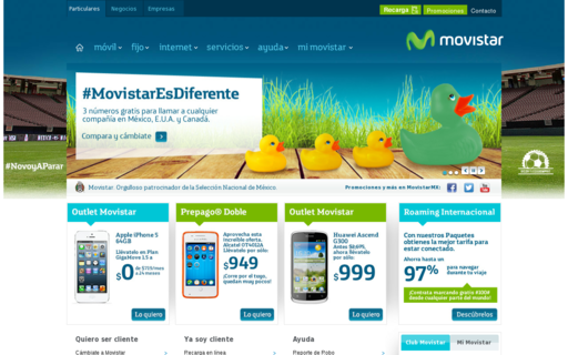 Access movistar.com.mx using Hola Unblocker web proxy