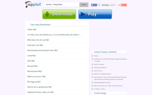 Access mp3skull.tv using Hola Unblocker web proxy