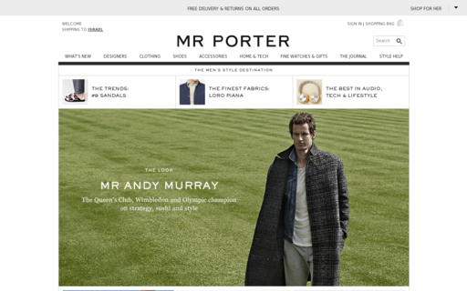 Access mrporter.com using Hola Unblocker web proxy