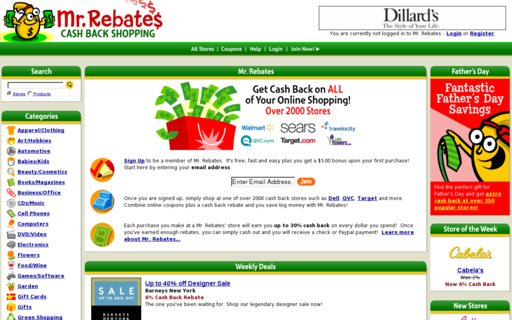 Access mrrebates.com using Hola Unblocker web proxy