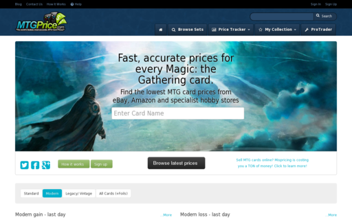 Access mtgprice.com using Hola Unblocker web proxy