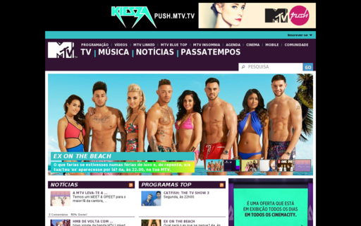 Access mtv.pt using Hola Unblocker web proxy