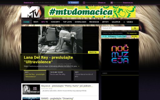 Access mtv.rs using Hola Unblocker web proxy