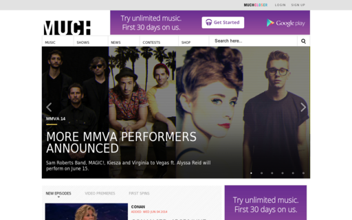 Access muchmusic.com using Hola Unblocker web proxy