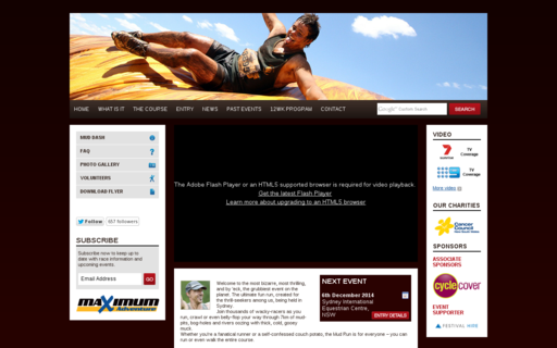 Access mudrun.com.au using Hola Unblocker web proxy