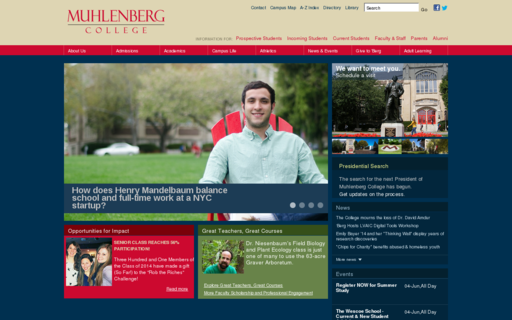 Access muhlenberg.edu using Hola Unblocker web proxy