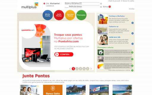 Access multiplusfidelidade.com.br using Hola Unblocker web proxy