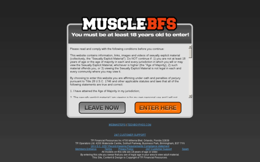Access musclebfs.com using Hola Unblocker web proxy