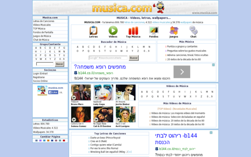 Access musica.com using Hola Unblocker web proxy