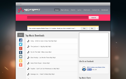Access musicaddict.com using Hola Unblocker web proxy