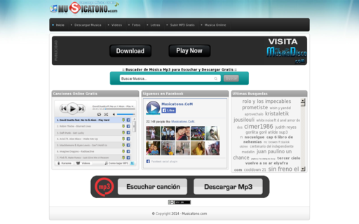 Access musicatono.com using Hola Unblocker web proxy