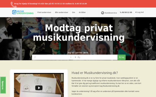 Access musikundervisning.dk using Hola Unblocker web proxy