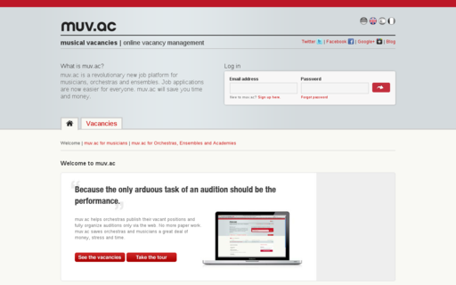 Access muv.ac using Hola Unblocker web proxy