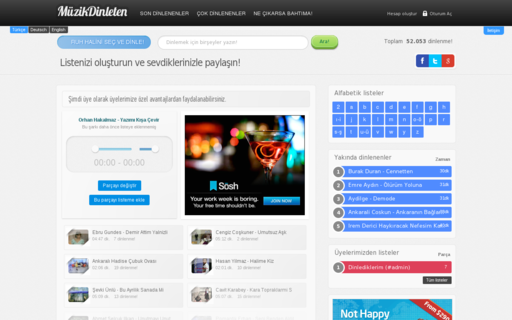 Access muzikdinleten.com using Hola Unblocker web proxy