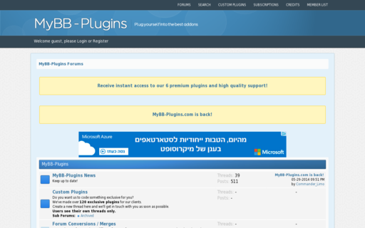 Access mybb-plugins.com using Hola Unblocker web proxy