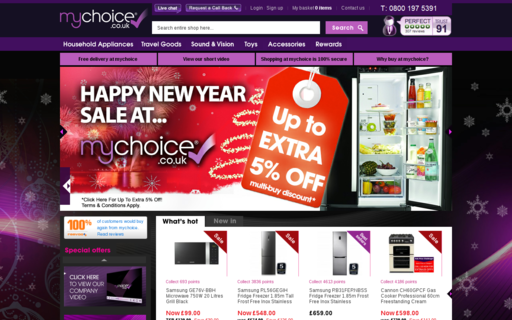Access mychoice.co.uk using Hola Unblocker web proxy
