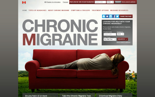 Access mychronicmigraine.ca using Hola Unblocker web proxy