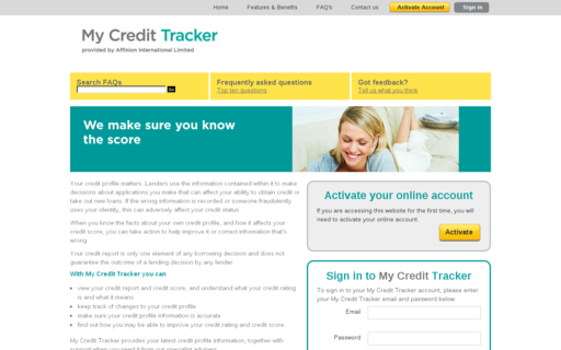 Access mycredittracker.co.uk using Hola Unblocker web proxy