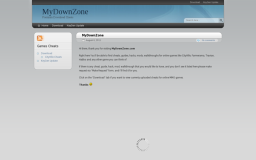 Access mydownzone.com using Hola Unblocker web proxy