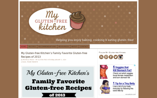 Access mygluten-freekitchen.com using Hola Unblocker web proxy