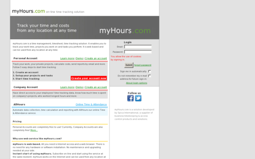 Access myhours.com using Hola Unblocker web proxy