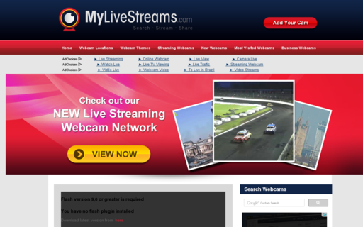 Access mylivestreams.com using Hola Unblocker web proxy