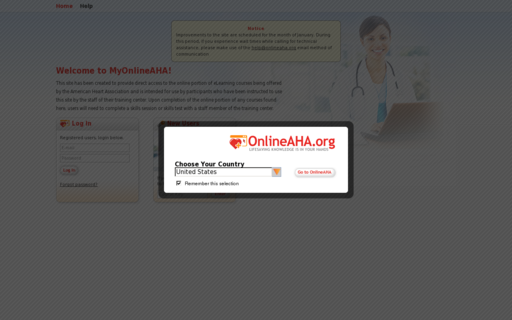 Access myonlineaha.org using Hola Unblocker web proxy